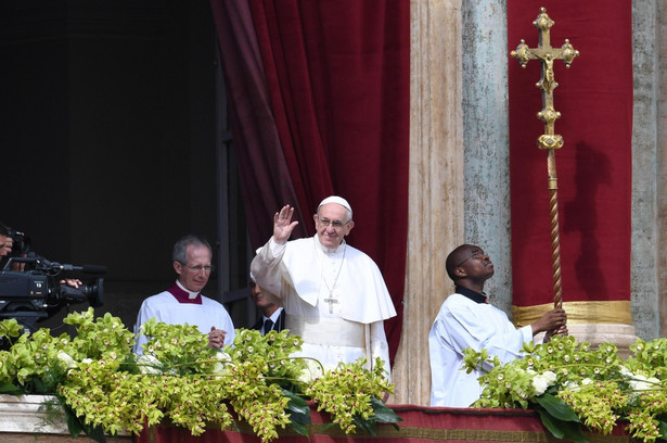 Papieskie orędzie w Watykanie.