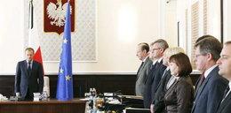Minuta ciszy w polskim rządzie