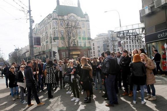 Turista je u Beogradu sve više