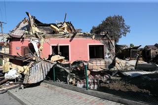 Nowa Biała po pożarze. 21 domów uszkodzonych