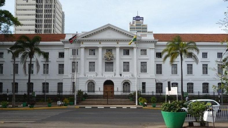 Nairobi County City Council offices.
