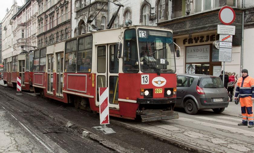 Remont na ul. 3 Maja w Katowicach