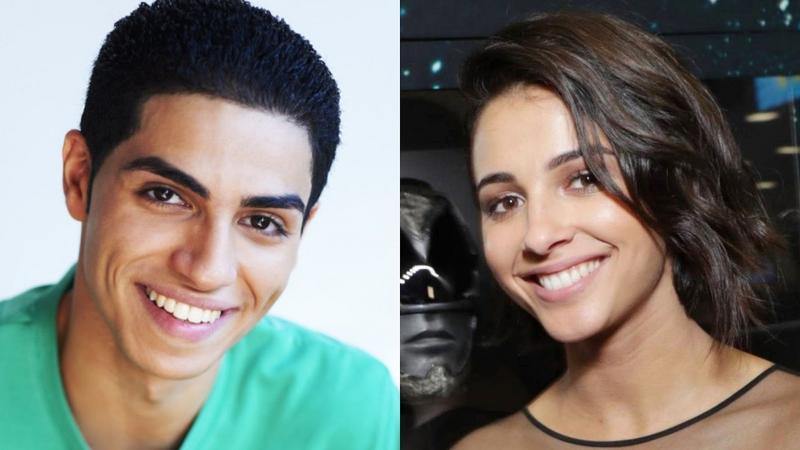 Mena Massoud i Naomi Scott