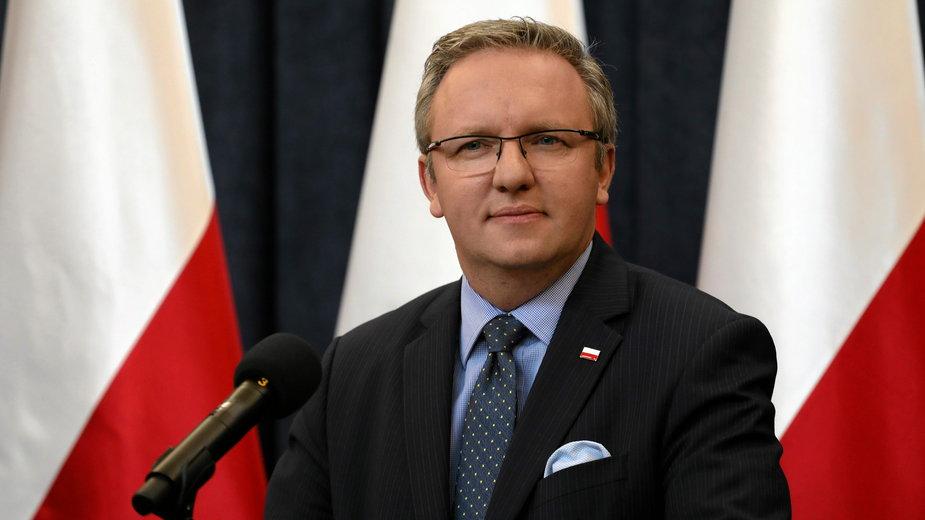 Krzysztof Szczerski, szef gabinetu prezydenta Andrzeja Dudy