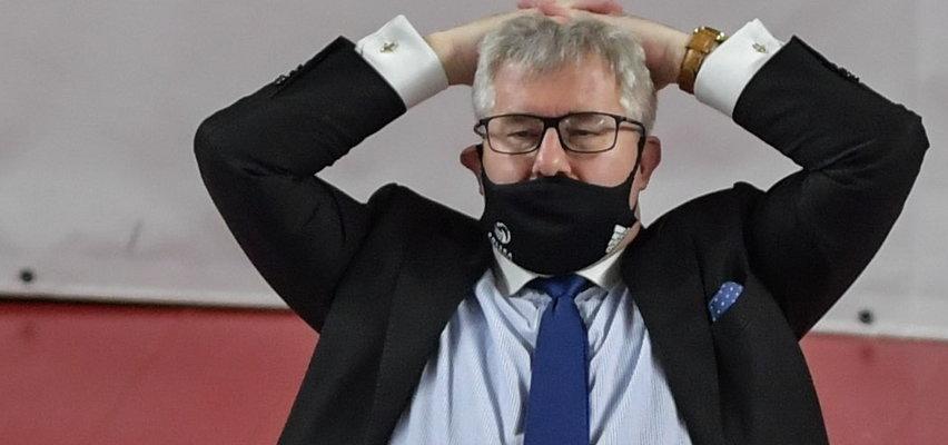 Czarnecki wygwizdany na meczu mistrzostw Europy w Krakowie