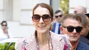 Celine Dion cała w kwiatach. Tej stylizacji nie może zaliczyć do udanych