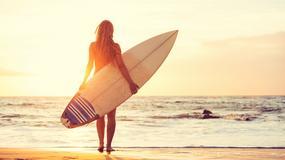 Seksowna surferka pokazała zdjęcie w bieliźnie