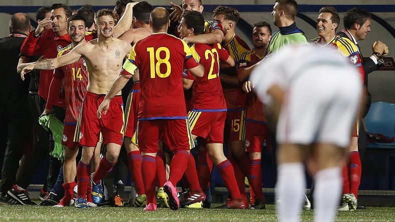 Radość piłkarzy z Andory