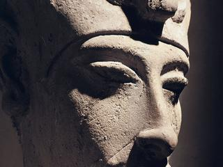 Head of Amenhotep IV from Karnak, New Kingdom, Dynasty XVIII