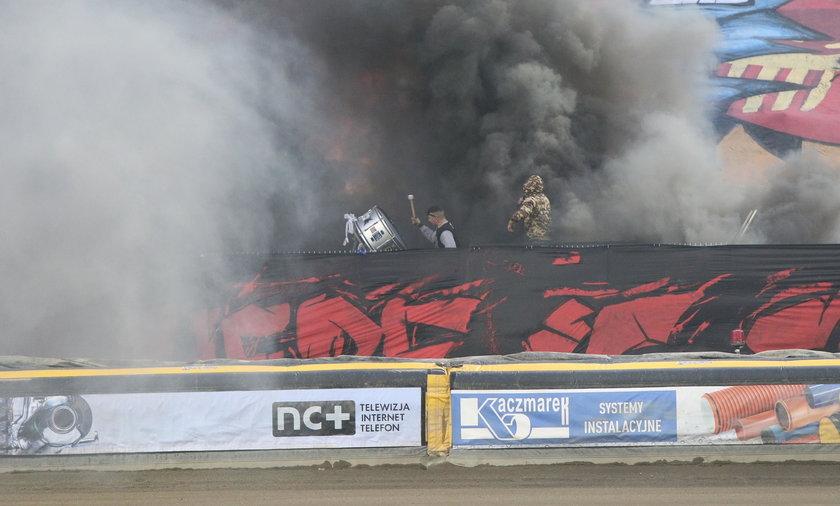 PGE Ekstraliga: Fogo Unia Leszno - Sparta Wrocław. Burda na trybunach
