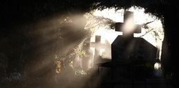 Wandal zdewastował cmentarz na Śląsku! Krzyże porozrzucał na ulicy