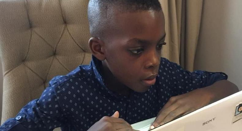 9-year-old Nigerian, Basil Okpara, has created over 30 games