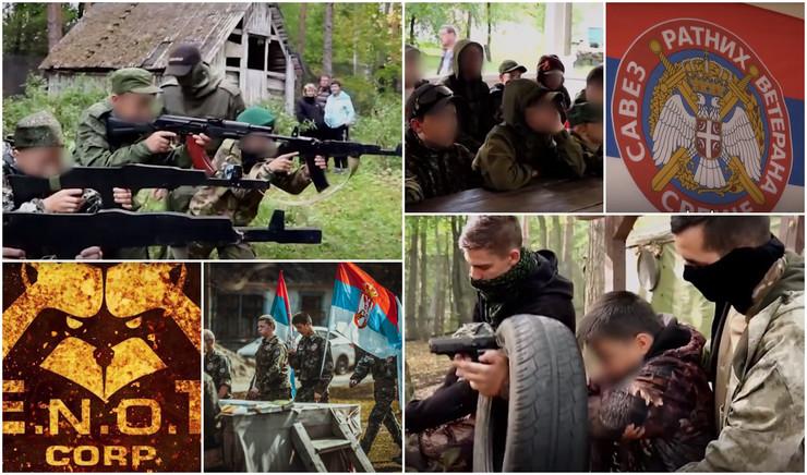 ruski kamp kolaž