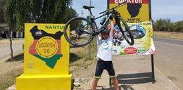 Pan Zbigniew Ciszek wyruszył w podróż po Afryce, żeby pomagać ludziom. Chce wykopać rowerem studnię