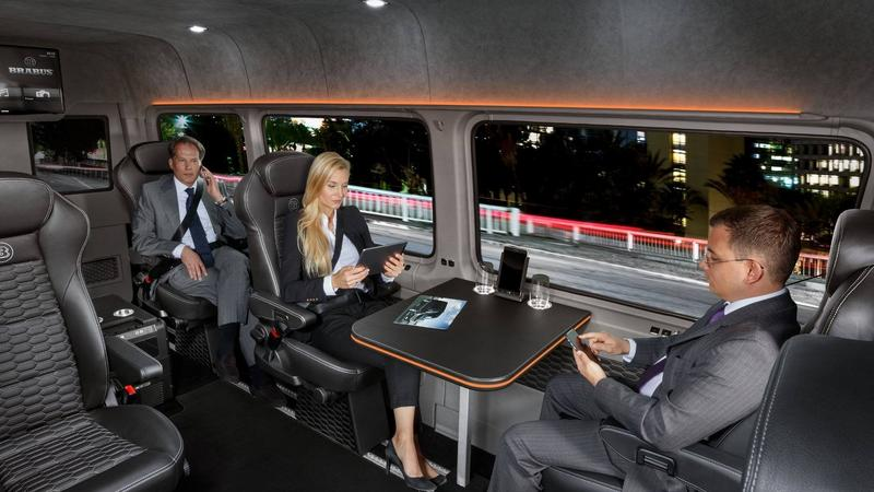 Mercedes Sprinter Brabus VIP Conference Lounge