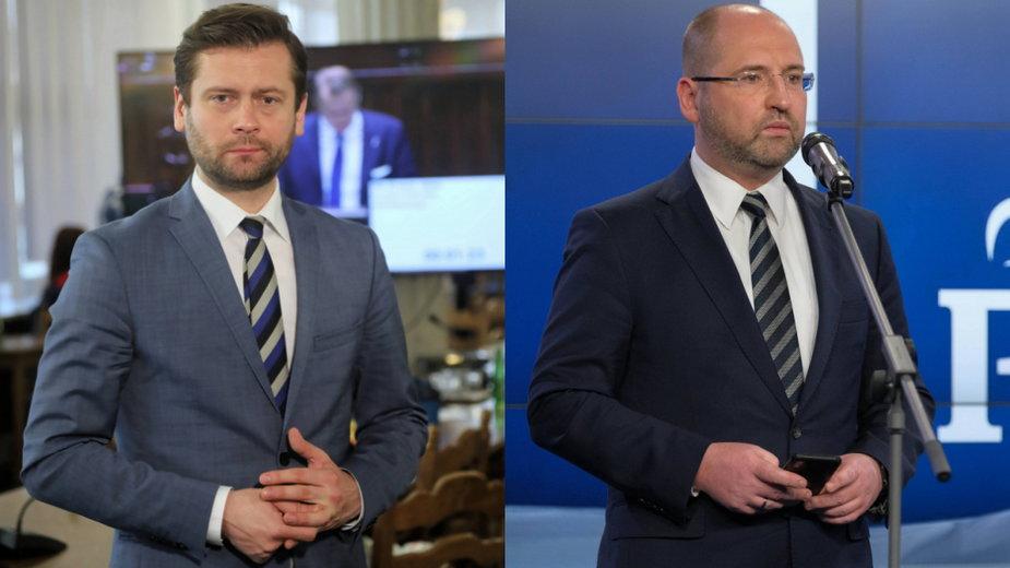 Władze Porozumienia za wyrzuceniem Kamila Bortniczuka i Adama Bielana