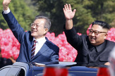Kim Džong Un, Mun Džae-in