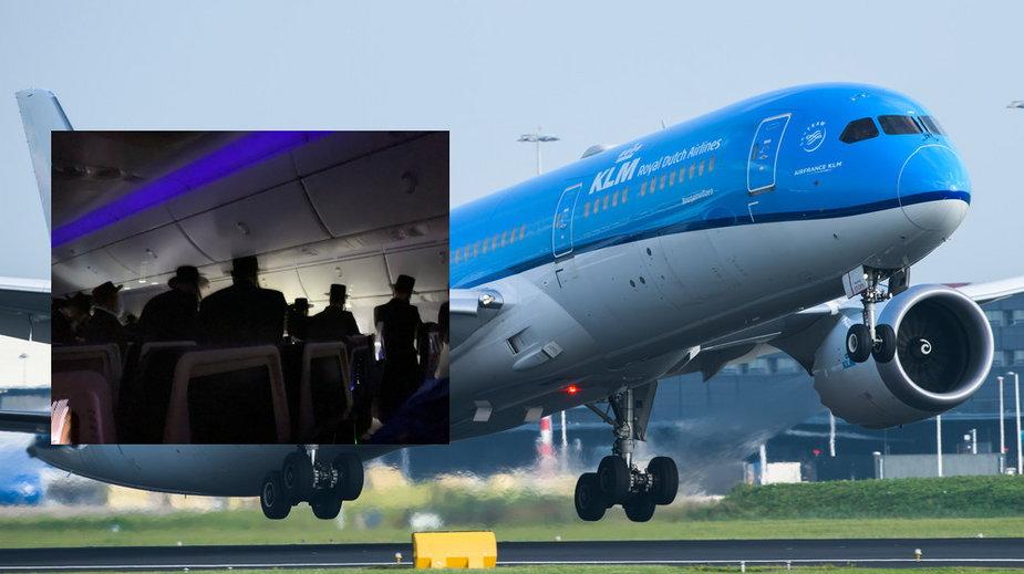 KLM, awantura na pokładzie