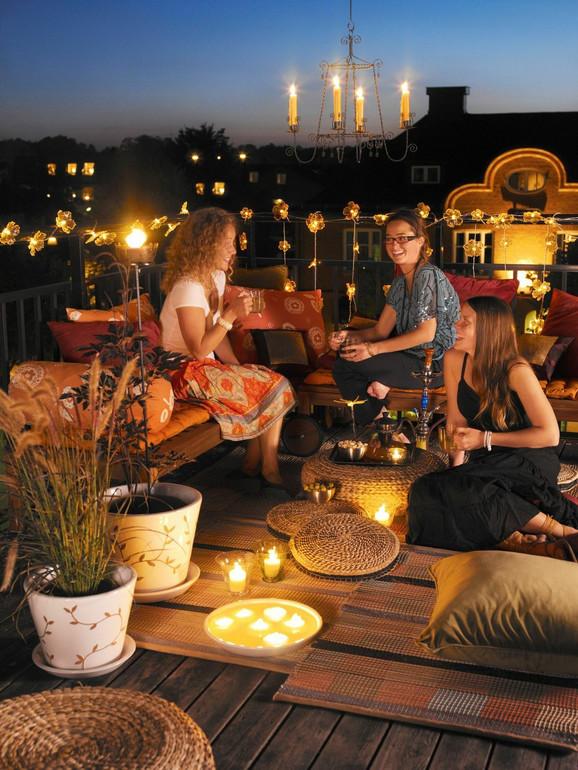Organizujte letnju žurku na otvorenom