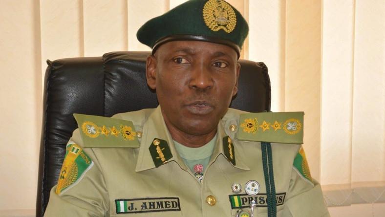 The Controller General, Nigerian Prisons Service (NPS), Mr Ja'afaru Ahmed [The Nation]