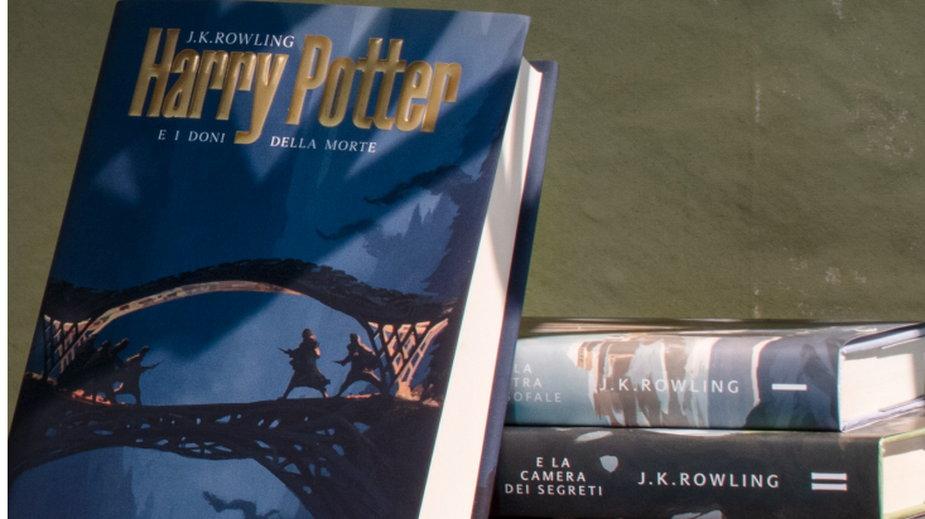 Okładki Harry'ego Pottera inspirowane architekturą. Zaprojektował je włoski architekt!