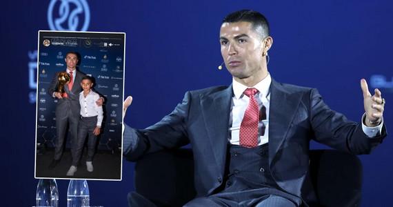 Cristiano Ronaldo opowiedział o najstarszym synu. Kiedy się na ...