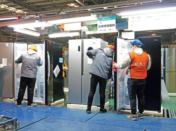 Poslednje pripreme frižidera ipak moraju da obave radnici