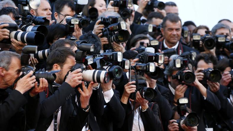 """Tłumy fotoreporterów przed pokazem filmu """"Okja"""" w Cannes"""