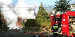 Dramatyczne sceny w Gorzowie. Cały dom zniknął w dymie
