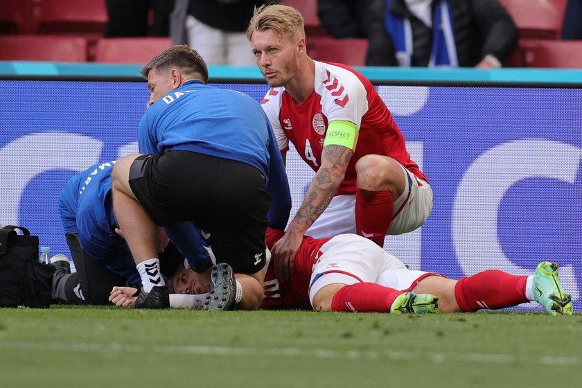 Lekarz reprezentacji Danii potwierdził, że u przechodzącego badania w szpitalu Christiana Eriksena doszło w sobotę do zatrzymania akcji serca.