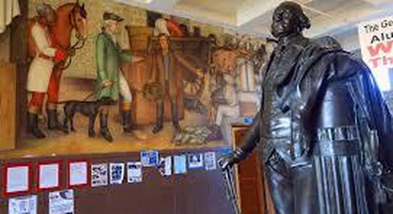 San Francisco school board votes to cover controversial George Washington murals