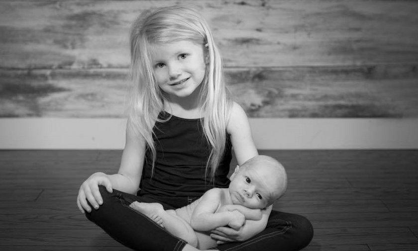 5-latka uratowała braciszka i mamę