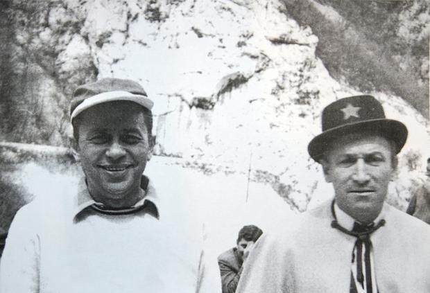 Miodrag Petrović Čkalja i Mija Aleksić