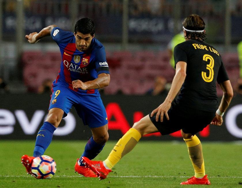 Sędzia pozwolił na ostrą grę w meczu Barcelony z Atletico