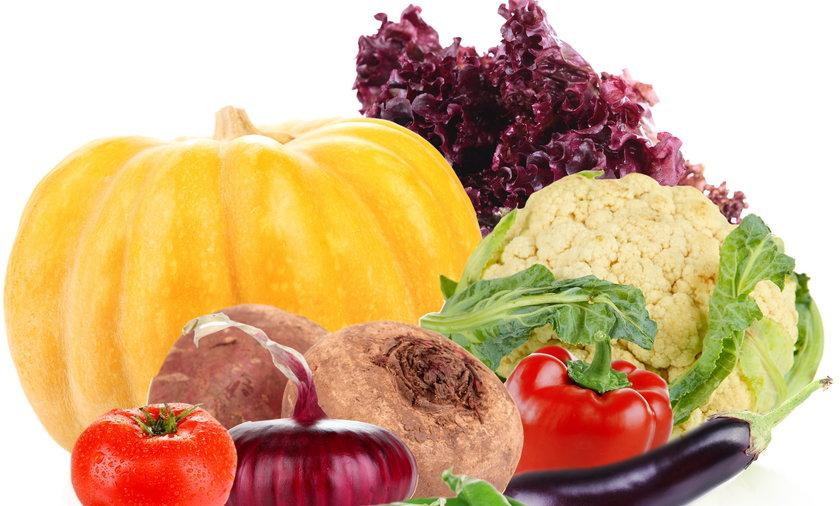 warzywa, burak, kalafior, dynia, sałata