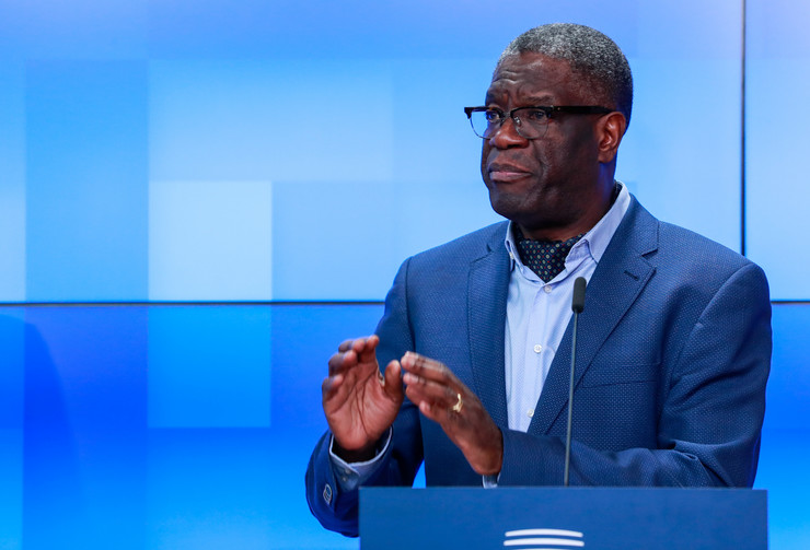 Denis Makvege, EPA- STEPHANIE LECOCQ