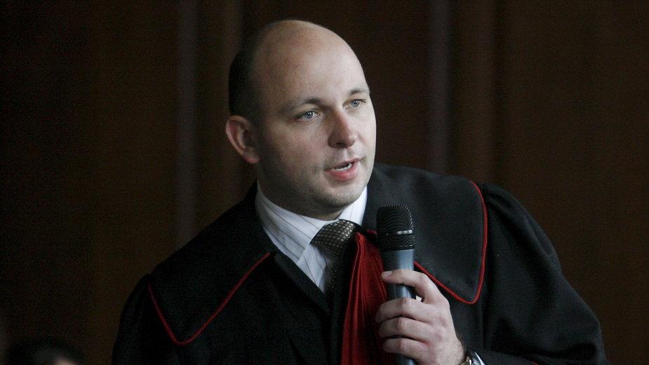 Prokurator Krzysztof Grzeszczak