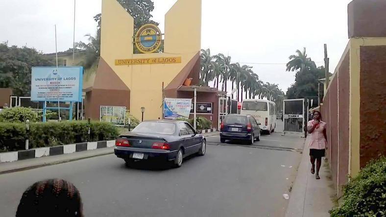 Entrance of the University of Lagos (UNILAG) (Leadership)