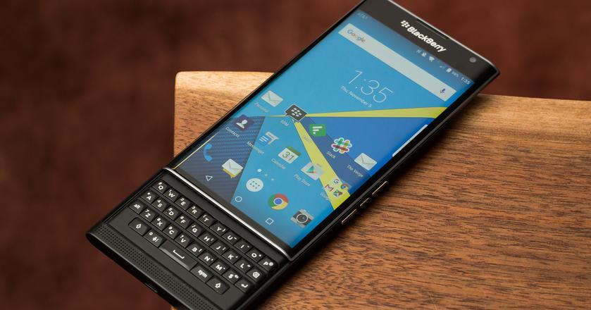 Jeden z ostatnich smartfonów wyprodukokwanych oryginalnie przez BlackBerry - Priv