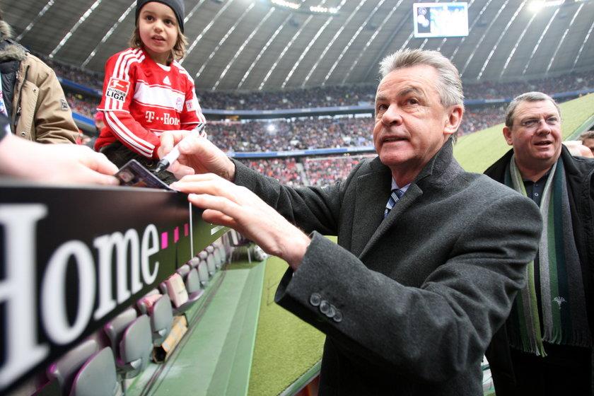 Jeden z najlepszych trenerów Ottmar Hitzfeld