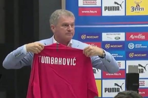 Ljubiša Tumbaković na promociji