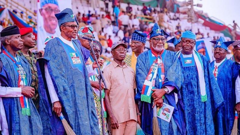 Image result for Buhari in ogun