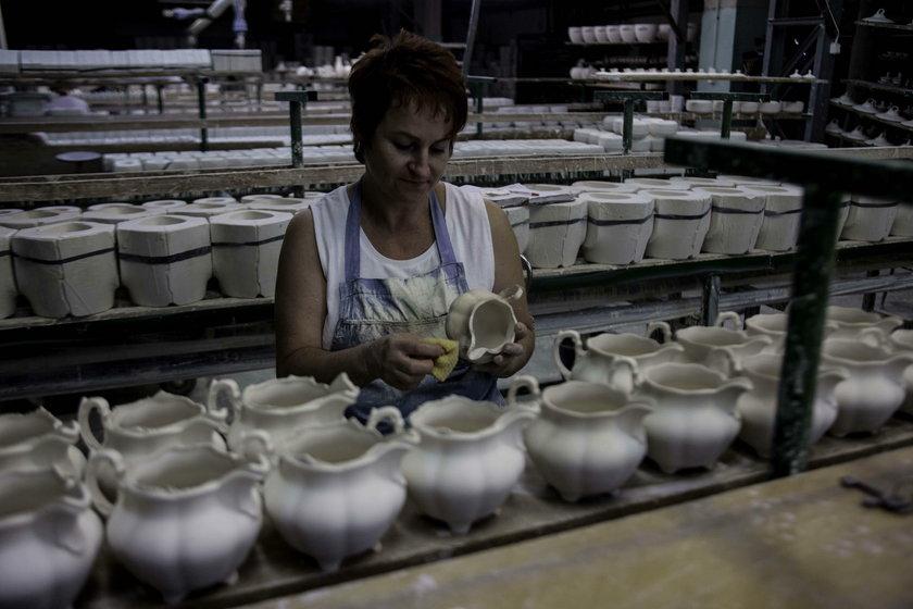Zdjęcie z Fabryki porcelany w Chodzieży
