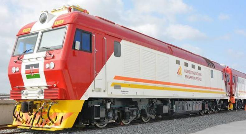 Madaraka Express train