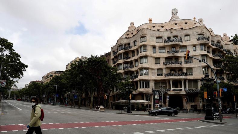 Barcelona podczas epidemii koronawirusa