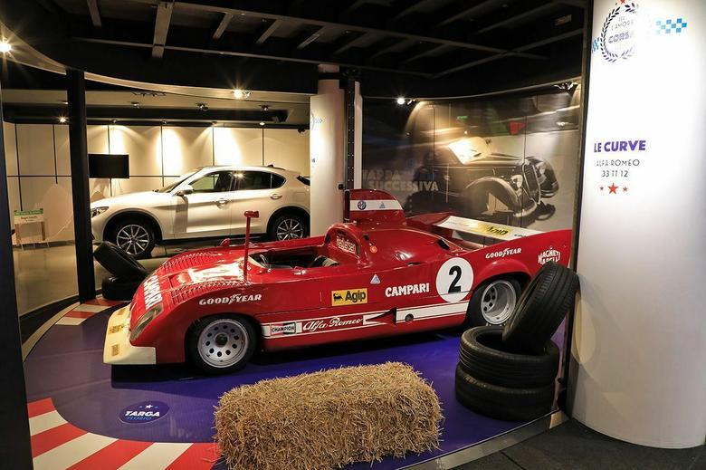 Wystawa w Paryżu  – Alfa Romeo 33 TT 12