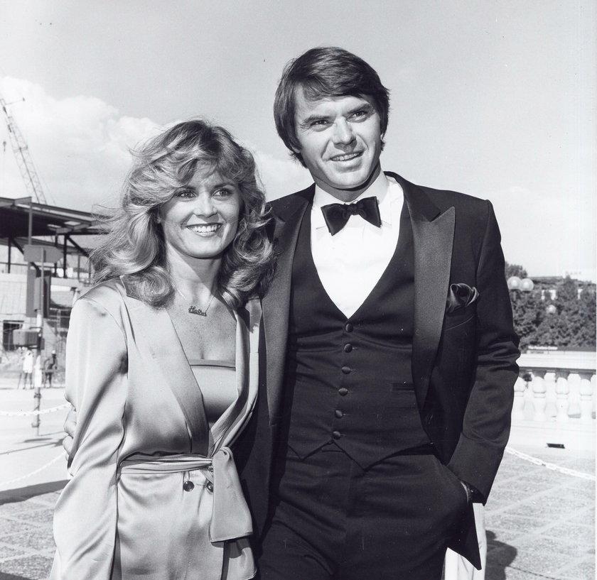 Heather Menzies-Urich z mężem Robertem Urichem