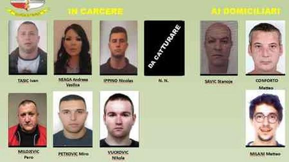 Uhapšeni članovi krimi-grupe