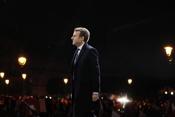 Emanuel Makron, Slavlje, Izbori