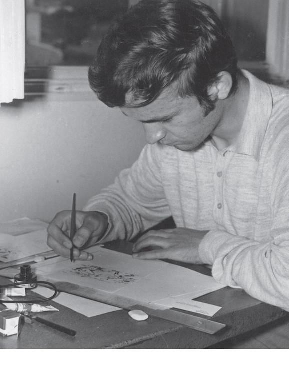 Crtačka škola Dečjih novina, 1970